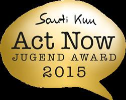 Logo Act Now Jugend Award