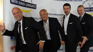 (v.l.) Andreas Buhr, Cemal Osmanovic, Steffen Ritter, Martin Limbeck