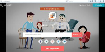 Screenshot jobclipr